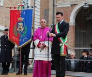 09/02/2016 - Il benvenuto al nuovo Vescovo di Senigallia
