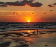 11/02/2016 - Colori dell'alba sul mare