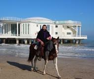 20/02/2016 - A cavallo alla Rotonda di Senigallia