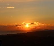 13/02/2019 - Sole su Ancona