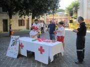 Anche la Croce Rossa ha il suo spazio