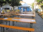 L\'area ristoro e degustazioni di FestAmbiente