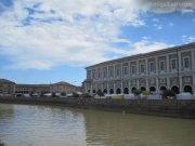 Fiera di Sant'Agostino 2013 - veduta dei Portici Ercolani