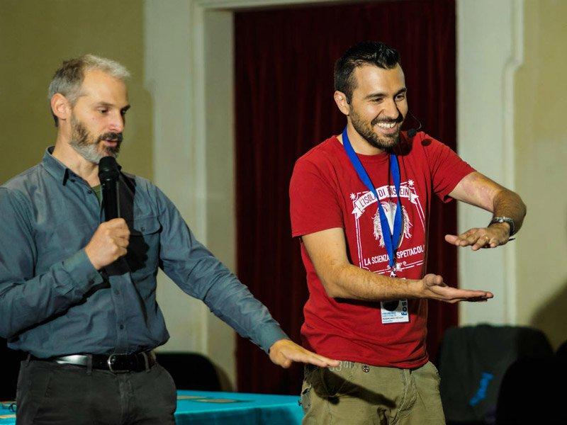 Prof. Helios Vocca e Massimiliano Trevisan