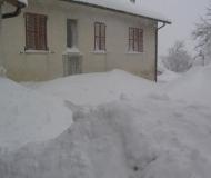 Foto dai lettori dell\'entroterra: la neve il 4 e 5 febbraio