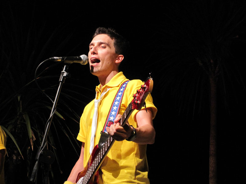 Gianluca Leone, voce dei Sunny Boys