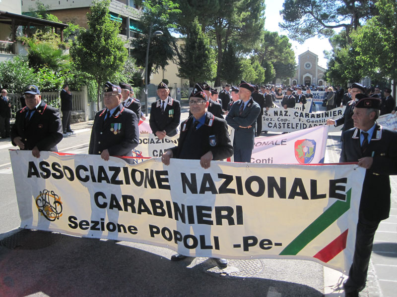 Sezioni ANC lungo Corso Matteotti