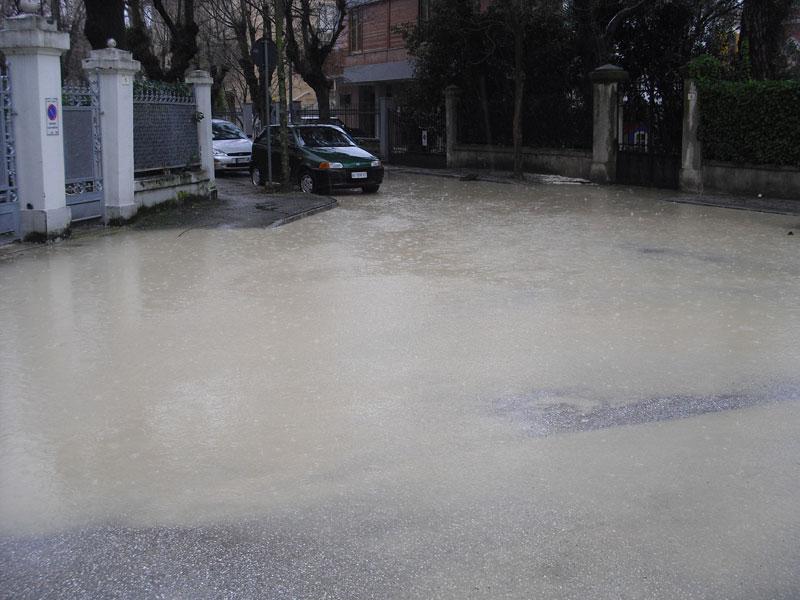 Incrocio via Bolzano via Gramsci, Senigallia