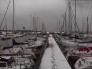 21/01/2013 - Un anno fa... il porto di Senigallia innevato