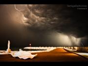 25/01/2013 - Lampi al porto di Senigallia