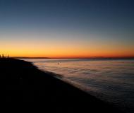 05/01/2017 - Tramonto con cielo terso