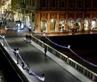 21/01/2017 - Luminarie su ponte e corso 2 Giugno