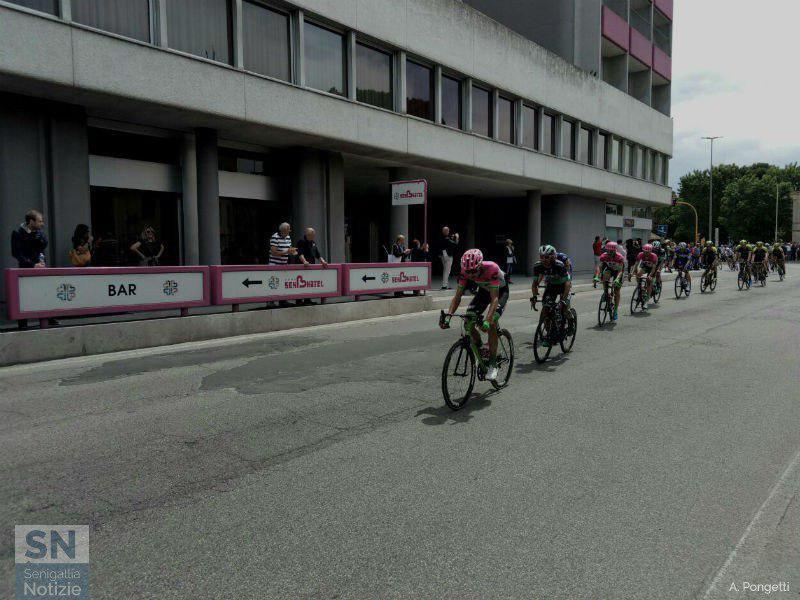 Il passaggio a Senigallia del Giro d'Italia 2018