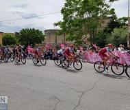 I corridori del Giro 2018 a Senigallia