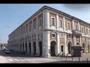 Veduta d'insieme di Palazzo Gherardi, in centro a Senigallia