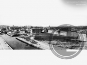 Il fiume Misa imbocca la zona portuale - Leopoldi-1006