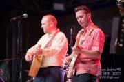 Musicisti sul palco del Summer Jamboree 2015