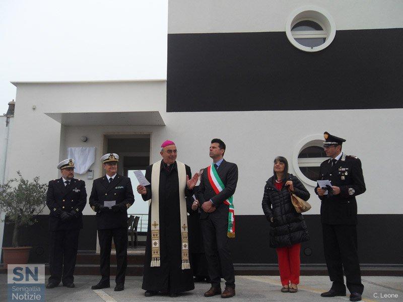 L'inaugurazione della caserma della Guardia Costiera