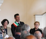 L'inaugurazione di Palazzetto Baviera a Senigallia