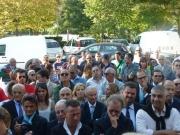 Le persone presenti all\'inaugurazione della San Gaudenzio di Senigallia
