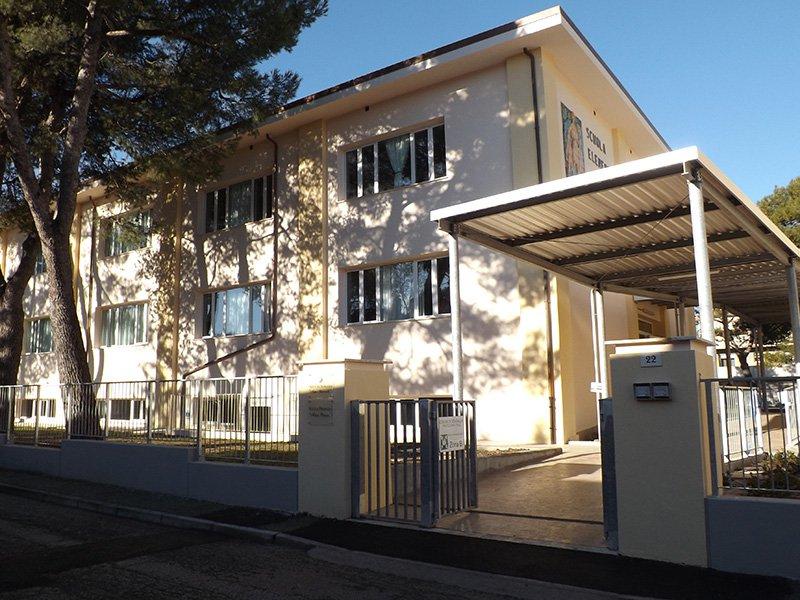 La rinnovata scuola Puccini di Senigallia