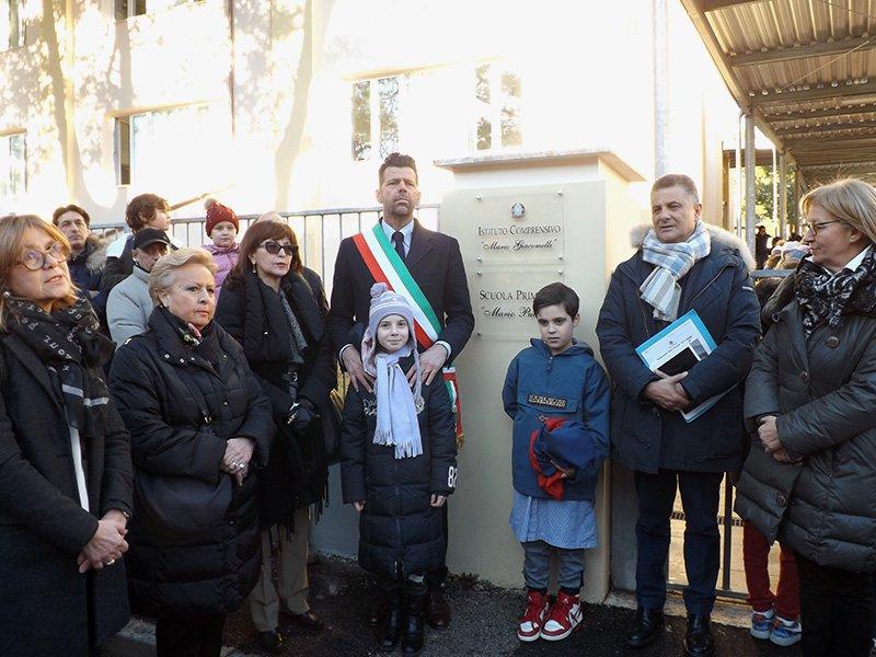 Inaugurazione scuola Puccini