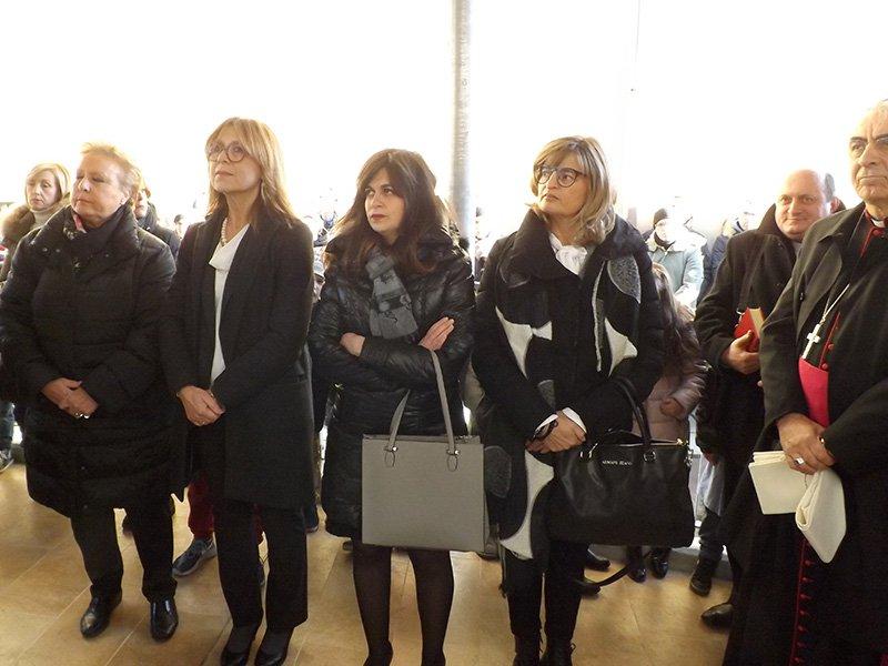 La senatrice Amati con gli assessori di Senigallia Bucari, Bomprezzi e Ramazzotti