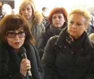 Il discorso dell'assessore regionale all'istruzione Loretta Bravi