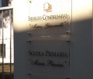 Le targhe a Mario Puccini e Mario Giacomelli