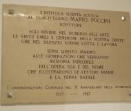 L'omaggio a Mario Puccini