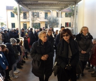 L'ingresso alla scuola Puccini