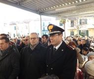 Autorità presenti all'inaugurazione