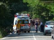 I soccorsi sul luogo dell\'incidente