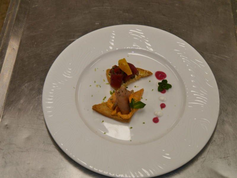 Incontri di Cucina per Amatori - Crostino di tonno