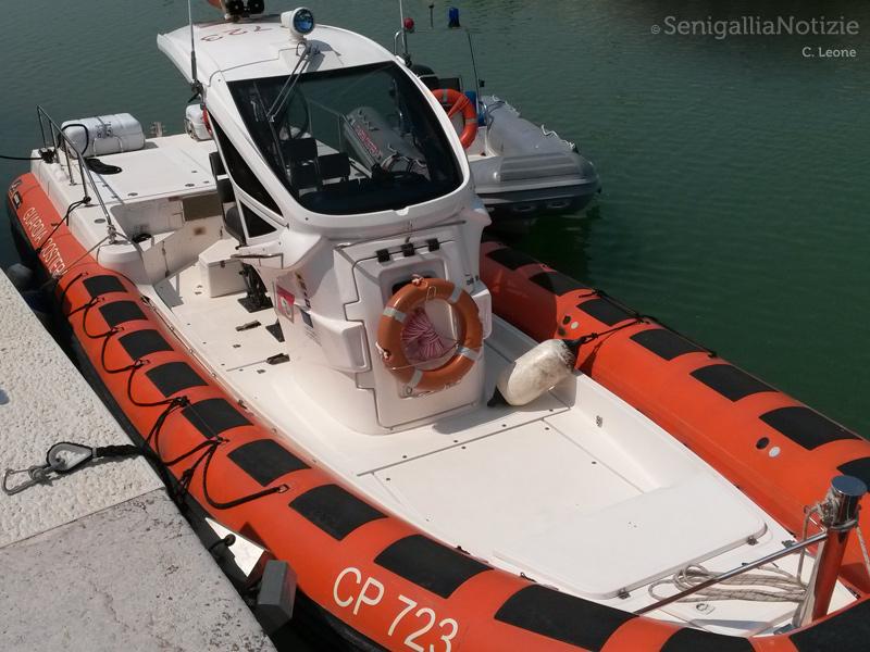 la nuova motovedetta CP 723 assegnata all'Ufficio Locale Marittimo di Senigallia