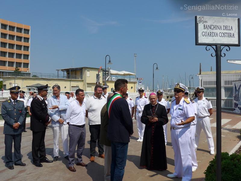 """intitolazione della """"Banchina Guardia Costiera"""" e presentazione della Nuova motovedetta CP 723"""