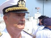 il direttore marittimo delle Marche, Contrammiraglio Francesco Saverio Ferrara