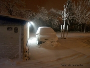 Senigallia, zona Cesanella in notturna