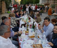 La Sfangata: cena e festa in strada dopo alluvione