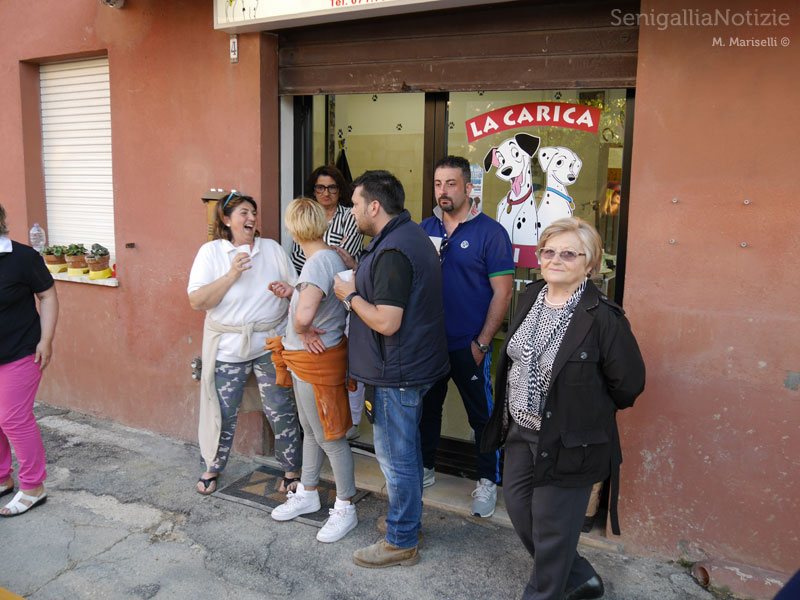 La Sfangata: festa e cena in via Cavalieri di Vittorio Veneto