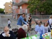 Residenti allluvionati, amici e volontari insieme a La Sfangata