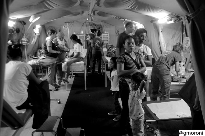 Aiuti umanitari nel campo della Protezione civile delle Marche