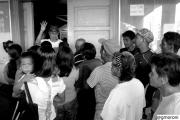 La distribuzione degli aiuti umanitari nelle Filippine devastate