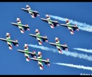 Le Frecce Tricolori a Senigallia, viste da Andrea Giuliani