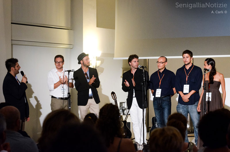 Sul palco la Redazione di SenigalliaNotizie.it