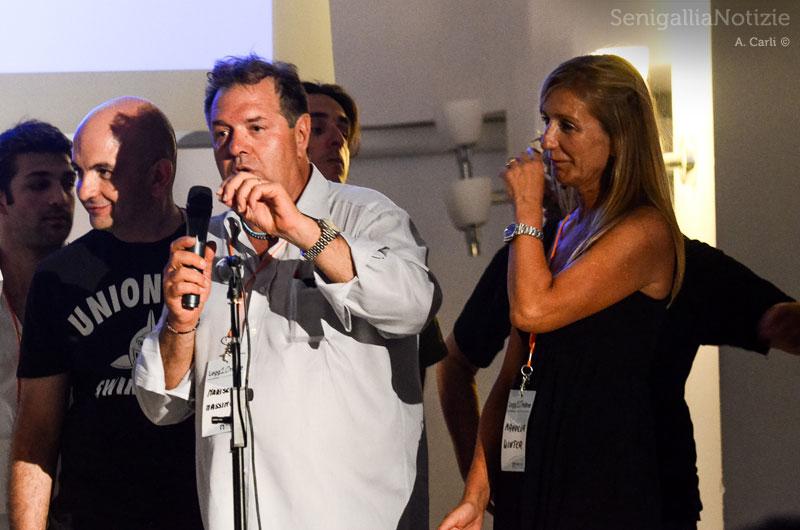 Gli editori di SenigalliaNotizie.it: Massimo Mariselli e Manuela Winter