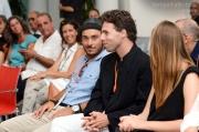 Lorenzo Ceccarelli e Andrea Pongetti tra il pubblico