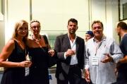 Manuela Winter e Massimo Mariselli con Il Sindaco Maurizio Mangialardi e la sua signora Valeria Satolli