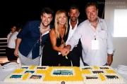 Il taglio della torta di compleanno di SenigalliaNotizie.it
