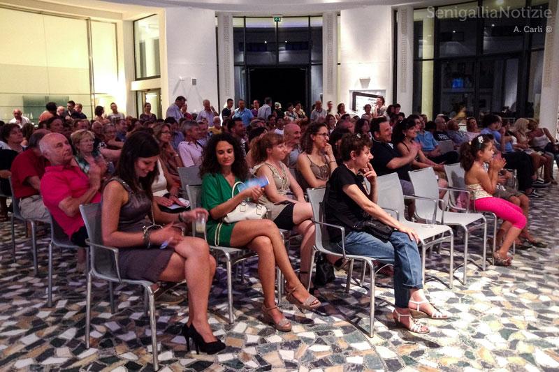 Il pubblico alla Rotonda per gli spettacoli di Legg10nline